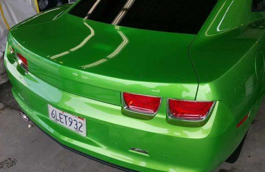 Custom-Graphic-Design-Vehicle-Wrap-Chevy-Camaro-SS-Auto-Back-No-Graphic-El-Dorado-Hills-CA