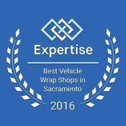 best vehice wrap shops in sacto 2016 award image