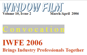 2006 International Window Film Conference Tint-Off™ Competition